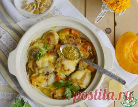 Рагу из курицы с тыквой – кулинарный рецепт