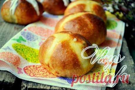 Английские крестовые булочки к Пасхе Пасхальные крестовые булочки (hot cross buns) традиционно пекутся на Пасху в Англии и других европейских странах. Как и русский кулич, их готовят из дрожжевого теста с добавлением цукатов, сухофруктов…