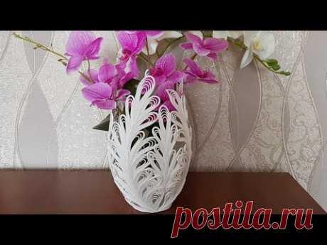 Декоративная ваза. Мастер класс