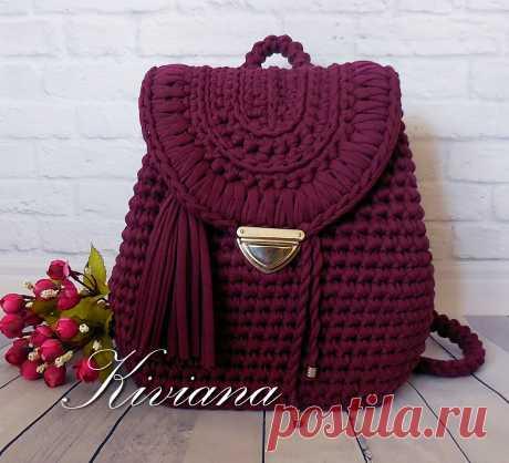 Вязаный женский рюкзак Kiviana Original