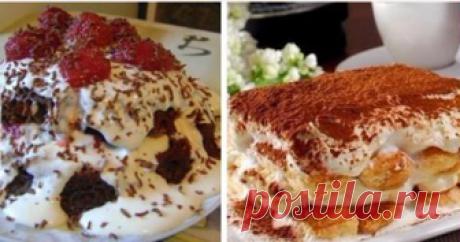 Подборка вкусных и быстрых тортов Настоящее чудо! 6 рецептов самых быстрых и вкусных тортов