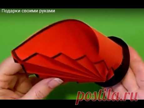 Поделки к ПАСХЕ DIY ОРИГАМИ Подставка Ваза под пасхальные яйца цветы из бумаги Подарки🌷Маме Бабушке