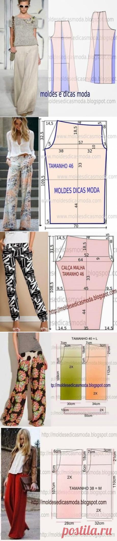Летние штаны — Сделай сам, идеи для творчества - DIY Ideas
