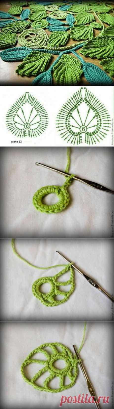 Элементы для новой работы сцепным полотном (из хлопка крючком) - Ярмарка Мастеров - ручная работа, handmade