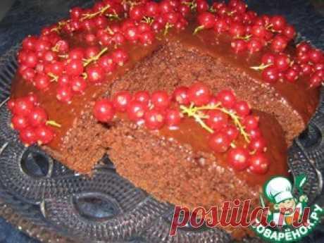 Шоколадный бисквит на кипятке - кулинарный рецепт
