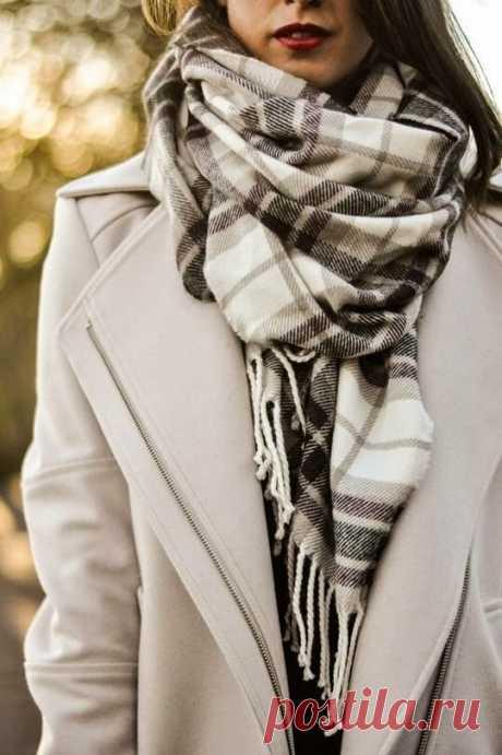 Как завязать шарф этой осенью, чтобы создать стильный образ | CLUB-WOMAN: Мода и стиль | Яндекс Дзен