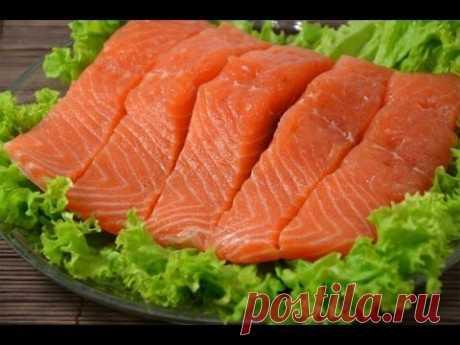 Красная рыбка домашнего посола — эконом-вариант