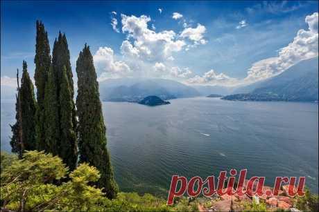 Озеро Комо, Италия. — Путешествия