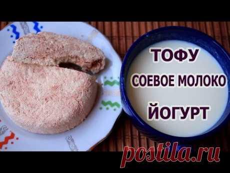 La leche DE SOJA ★ TOFU ★ el YOGURT de soja ★ Irina Kuzmina