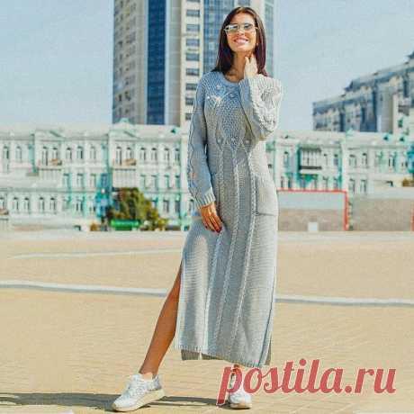8 женственных платьев для осени | Вязунчик — вяжем вместе | Пульс Mail.ru