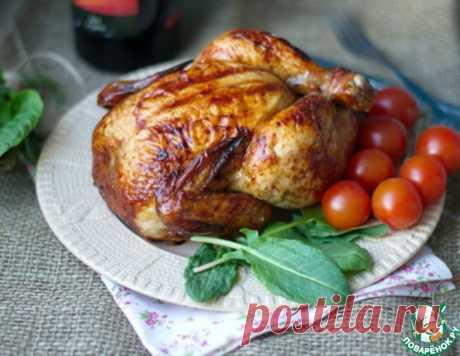 Курица запеченная – кулинарный рецепт