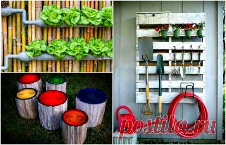 Идеи оформления придомовой территории — Дом и Сад
