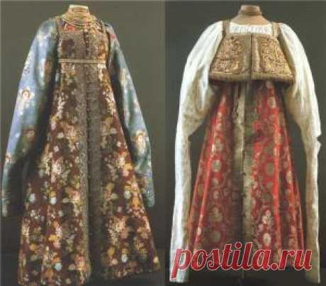 Русская теплая одежда