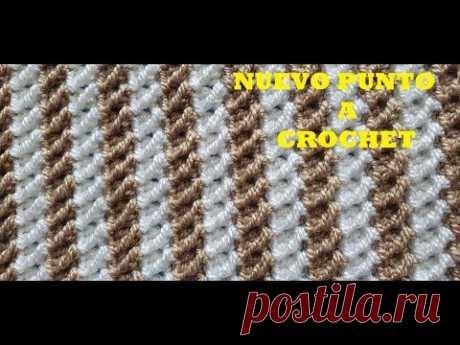 PUNTO #NUEVO A CROCHET #FACIL