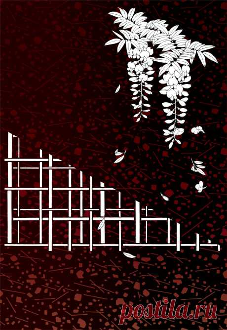 Harusouka 1 (картинки для декупажа, для вживления в поталь, подготовлено творческой группой Артель Вольга)