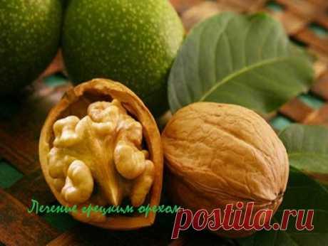 Лечение грецким орехом | ocharowashka.ru