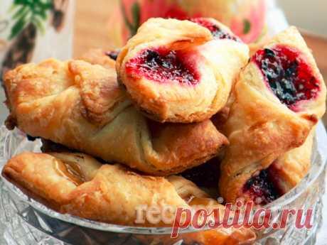 """Печенье """"Минутка"""" с ягодным джемом"""