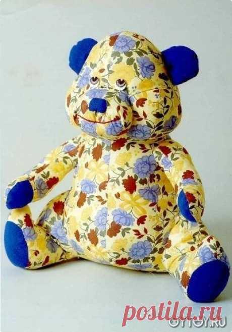 Выкройки игрушек из ткани своими руками: простых, новогодних, тильд, мишек, коз