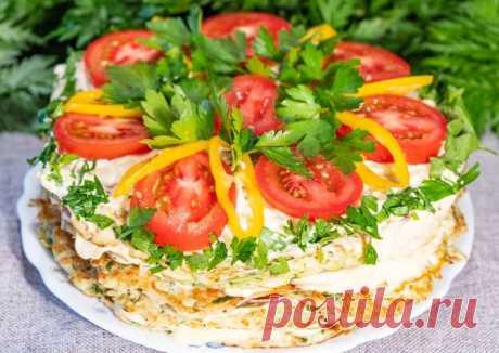 (21) Закусочный торт из кабачков с томатами - пошаговый рецепт с фото. Автор рецепта Лена Машнич Сибирячка 🏃♂️ ✈️ . - Cookpad
