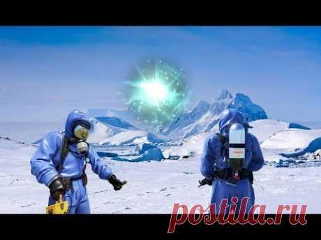 Находки которые потрясли мир! В Антарктиде нашли инопланетную базу. Упавшее НЛО пришельцев - YouTube