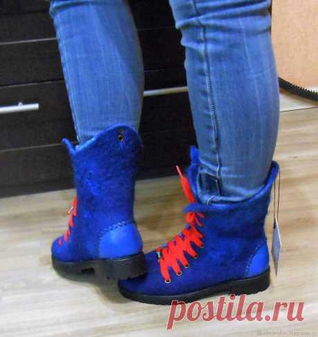 303980b83fb5b Ботинки валяные – купить в интернет-магазине на Ярмарке Мастеров с  доставкой Ботинки валяные -