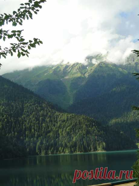 Озеро Рицца.Абхазия