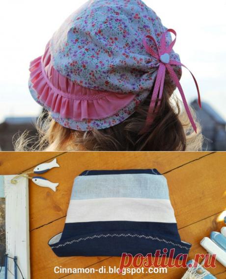Летние головные уборы для детей — Делаем руками