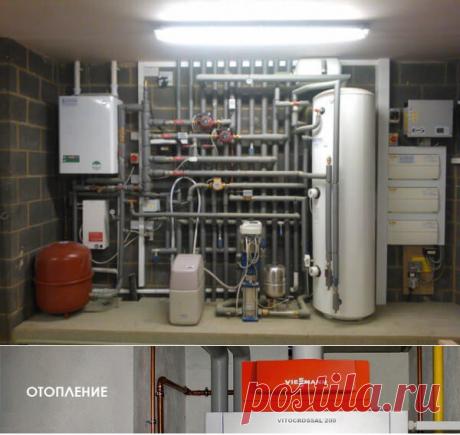 Монтаж систем отопления и отопительных котлов