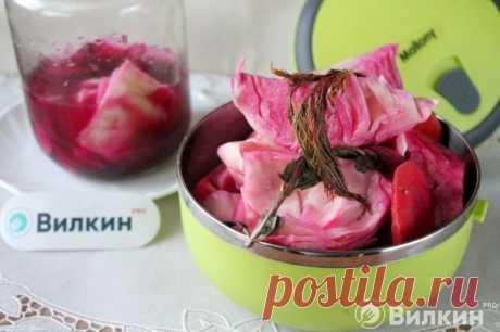 Соленая капуста со свеклой - рецепт с фото пошагово