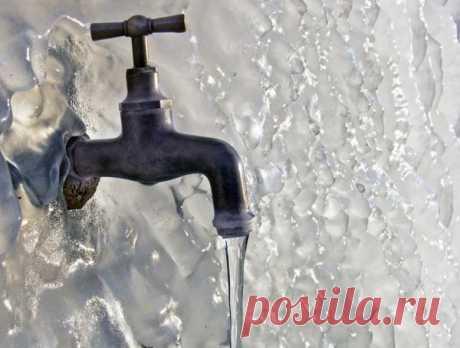 Водоснабжение на даче зимой, основные проблемы организации водоснабжения и советы по их предотвращению