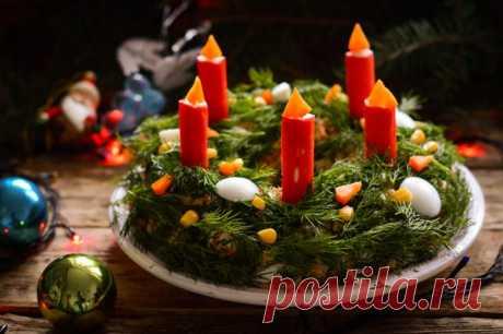 Салаты на Рождество 2019 | Простые рецепты с фото