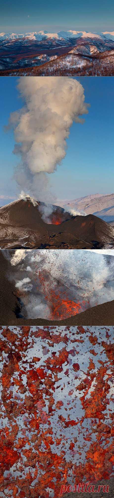 Новое трещинное толбачинское извержение 2 месяца спустя : НОВОСТИ В ФОТОГРАФИЯХ