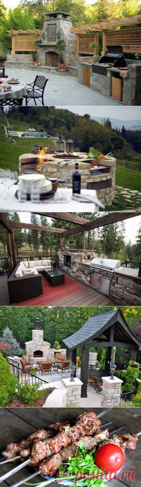 Arreglamos el lugar para la parillada: los consejos de la foto + 3 recetas de la marinada para el shashlik sabroso   el Blog elisheva.ru