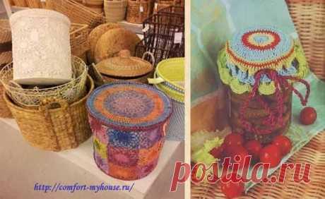 Вязание для кухни. Красивые баночки | Уют и тепло моего дома