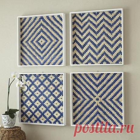 Японская, мозаичная техника плетения из ткани. Идеи - для вашей рукодельной копилки!   Юлия Жданова   Яндекс Дзен