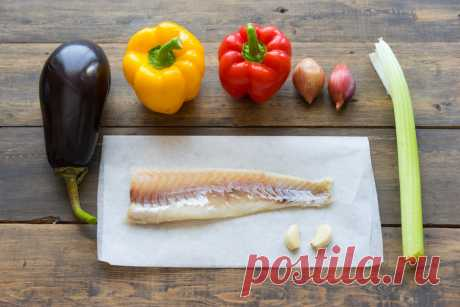 Белая рыба, запечённая с овощами в особых конвертах - Andy Chef - блог о еде и путешествиях, пошаговые рецепты, интернет-магазин для кондитеров