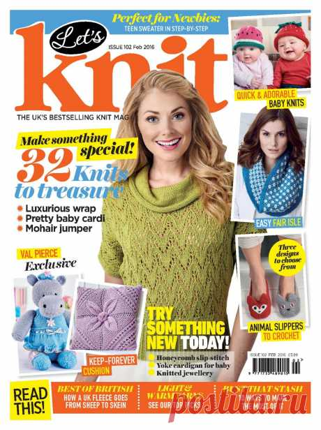 Let's knit Issue 102 February 2016