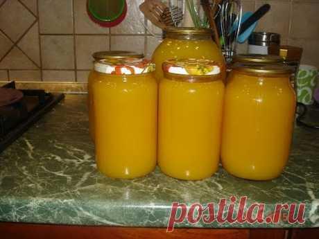 Домашние хлопоты.Тыквенный сок с апельсинами на зиму. - YouTube