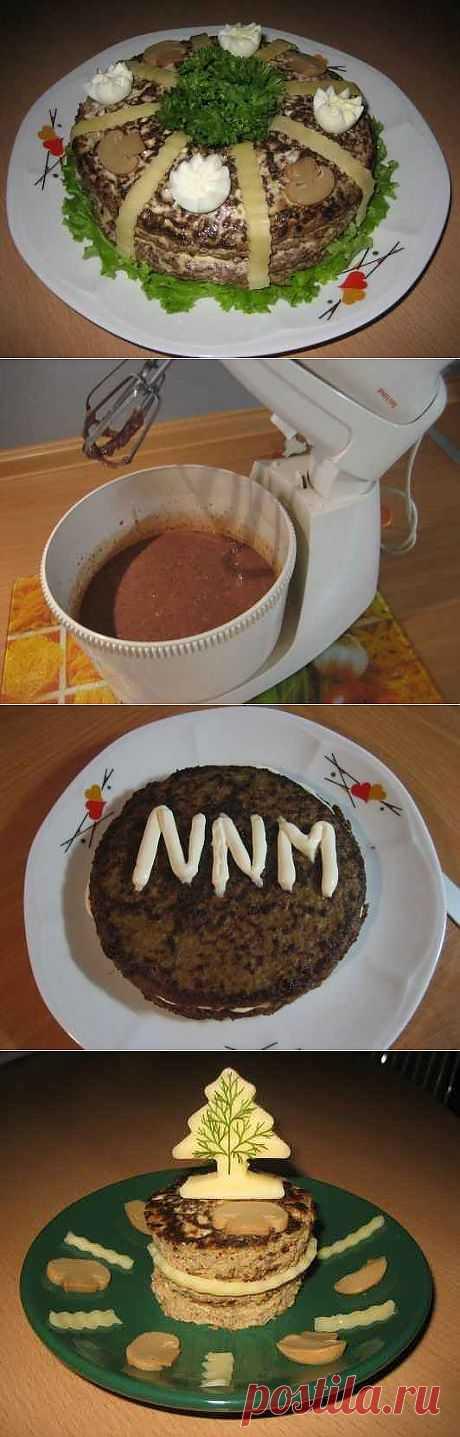 Печеночный торт.