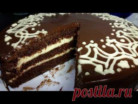Постный шоколадный торт (Обязательно читаем рецепт в описании под видео!)