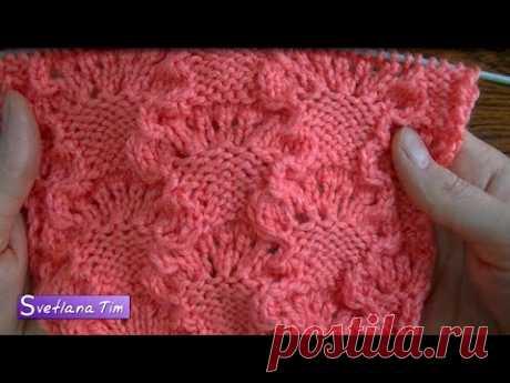 Pattern FLOWER BASKET. Knitting by # 392 spokes