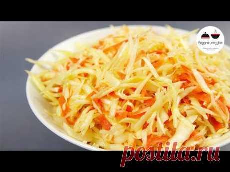 Секреты вкусного салата из капусты КАК В СТОЛОВОЙ