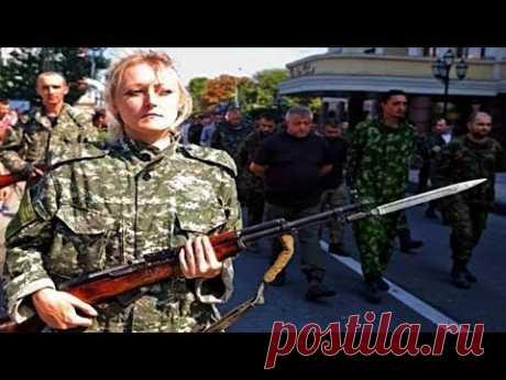 Военный парад в Донецке ДНР 2016
