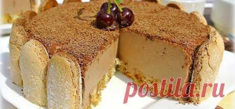 Торт-суфле без выпечки | ВКУСНО ПОЕДИМ!