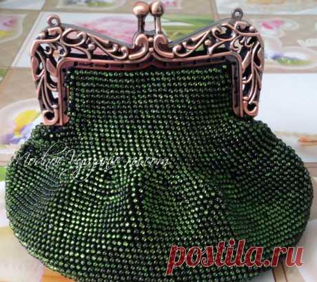 Мастер-класс по вязанию косметички из бисера   - Crochet - Modnoe Vyazanie