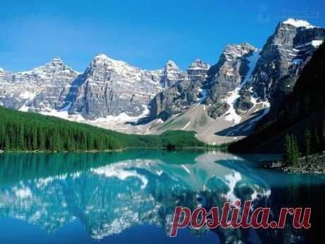 НАЦИОНАЛЬНЫЙ ПАРК БАНФ, КАНАДА.  Национальный парк Банф, расположенный в Скалистых горах Канады – старейший парк на территории этой страны и один из крупнейших в мире.