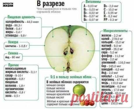 Невероятная польза яблока — Мегаздоров