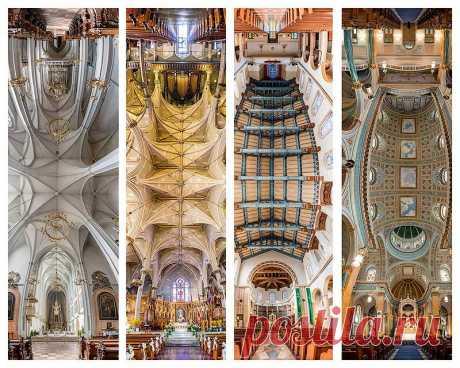 Потрясающие снимки храмов от входа до алтаря в одном фото : НОВОСТИ В ФОТОГРАФИЯХ