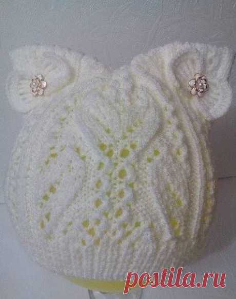 We knit a wonderful hat for the princess