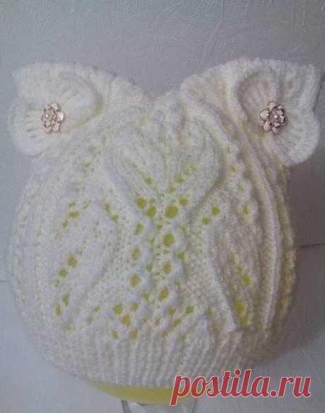 Вяжем чудесную шапочку для принцессы из категории Интересные идеи – Вязаные идеи, идеи для вязания